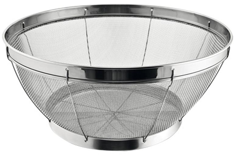 Корзинка для процеживания Tescoma GrandCHEF, цвет: серебристый, диаметр 30 cм корзинка сервировочная mayer