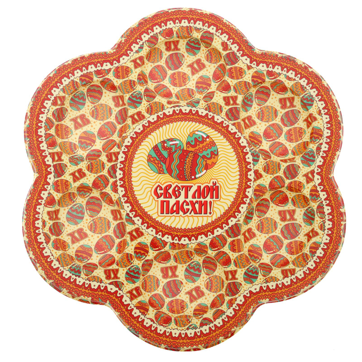 """От качества посуды зависит не только вкус еды, но и здоровье человека. Пасхальная подставка на 6 яиц """"Пасхальный паттерн"""" — товар, соответствующий российским стандартам качества. Любой хозяйке будет приятно держать его в руках. С данной посудой и кухонной утварью приготовление еды и сервировка стола превратятся в настоящий праздник."""