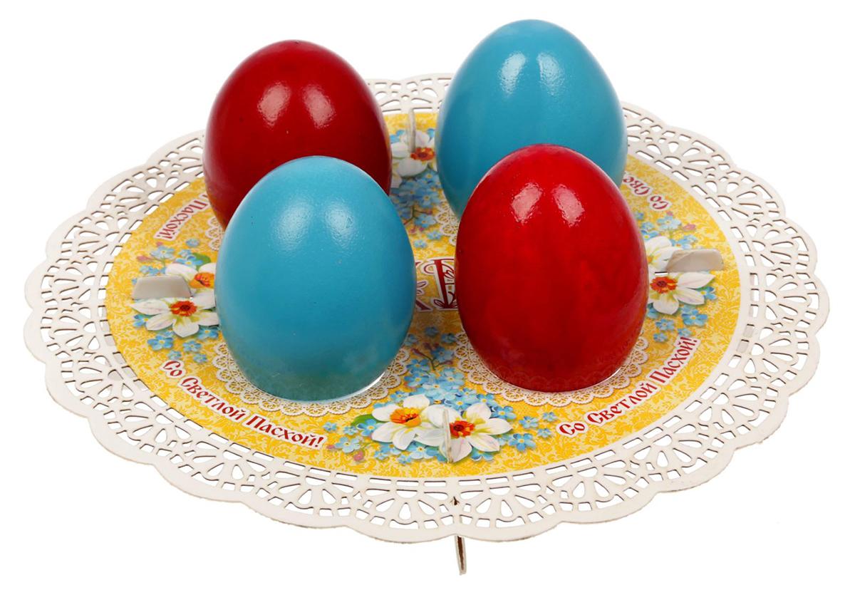 """От качества посуды зависит не только вкус еды, но и здоровье человека. Подставка пасхальная на 4 яйца """"Цветы"""" — товар, соответствующий российским стандартам качества.Любой хозяйке будет приятно держать его в руках.С данной посудой и кухонной утварью приготовление еды и сервировка стола превратятся в настоящий праздник."""