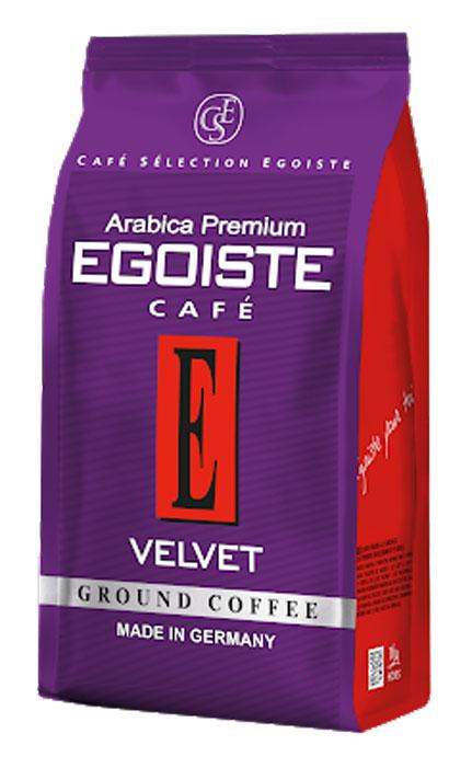 Egoiste Velvet Ground Pack кофе молотый, 200 г4260283250783Насыщенный, восхитительный вкус с глубокими винными нотами и нежным фруктовым послевкусием. Egoiste Velvet задаст правильный тон на весь день. Этот кофе обжарен до цвета молочного шоколада в обволакивающих потоках горячего воздуха, не соприкасаясь с барабаном, чтобы раскрыть более чистый, яркий и интенсивный вкус и аромат.