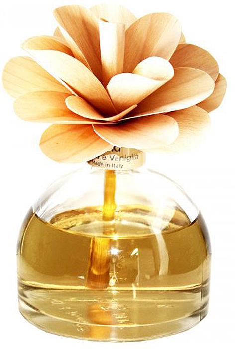 Диффузор ароматический Muha Амбра и ваниль, с цветком, 200 млBGH0108Ароматический диффузор с цветком Амбра и Ваниль - видение солнечной полуденной веранды итальянского домика с роскошью цветочных и древесных нот в букете с благородной ванилью. Влажно-дымная амбра с согревающим мускусом подчеркивают теплоту и сладость букета и придают целостность композиции.