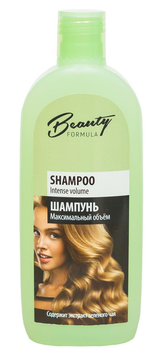 Mon Platin Минеральный шампунь Максимальный объём для всех типов волос Beauty Formula, 250 мл