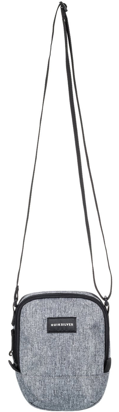 Сумка на плечо мужская Quiksilver Black Dies M, цвет: серый, 1,5 л. EQYBA03081-KTA0EQYBA03081-KTA0Мужская сумка на плечо Quiksilver выполнена из полиэстера. Модель с одним основным отделением застегивается на молнию. У изделия регулируемая по длине плечевая лямка.