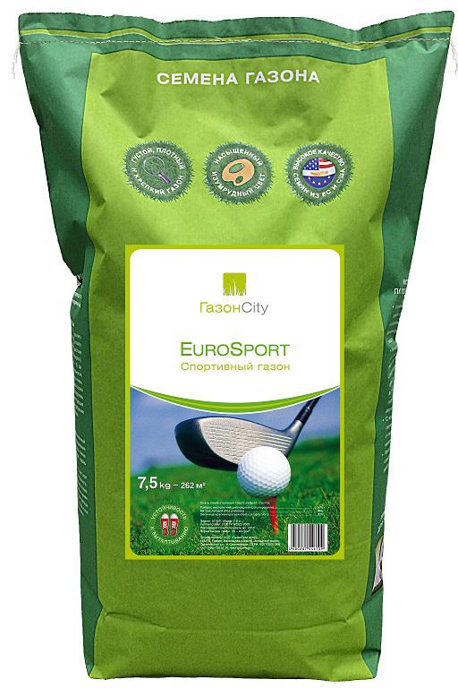 Газон ГазонCity EuroSport, 7,5 кг газон газонcity eurosport 7 5 кг