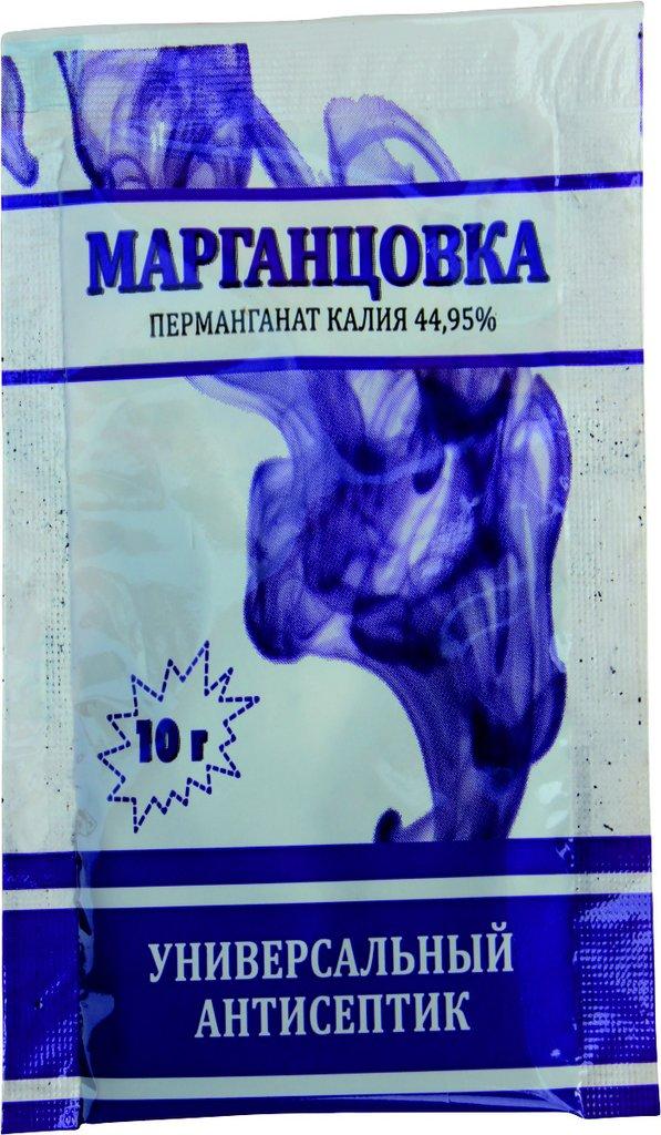 """Марганцовка перманганат калия 44,95%, универсальный антисептик для протравливания семян, обработки почвы и растений. Марганцовка - это универсальный антисептик, который не только обеззараживает почву и протравливает семена, но еще и эффективно борется с насекомыми! Характеристики: Протравливает семенаОбеззараживает почвуПодкармливает (К и Mn)Борется с насекомыми Преимущества:Общеизвестный """"народный"""" продукт, зарекомендовавший себя на рынкеМногофункциональность (воздействует как на растение, так и на почву)"""