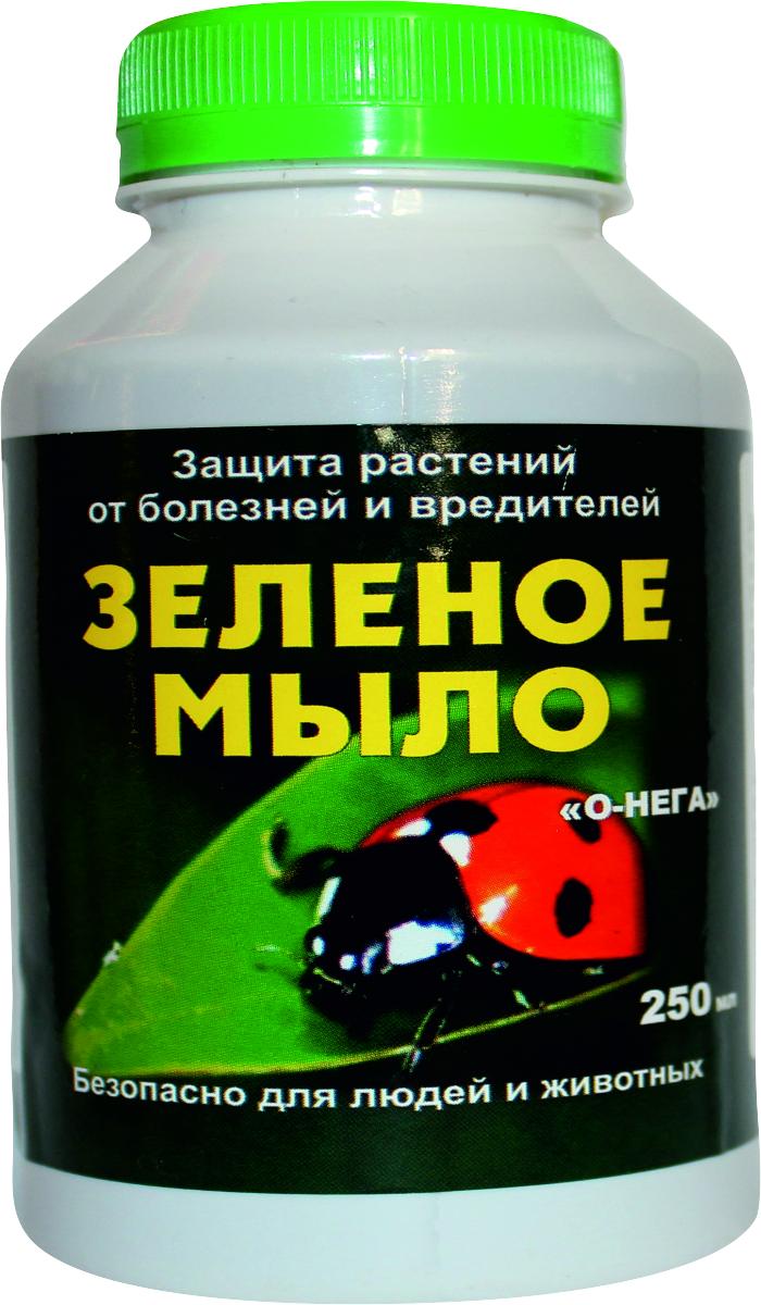 Зеленое мыло — низкотоксичный для человека инсектицид, имеющий профилактическую эффективность в отношении внушительного спектра сосущих вредителей сада/огорода. Используя зеленое мыло от вредителей, в рабочий раствор для опрыскивания культур часто включают посторонние примеси, усиливающие токсический эффект на паразитов (древесная зола, керосин, медный купорос и пр.). Это хороший прилипатель, имеющий оптимальную совместимость с другими нестойкими пестицидами. Как самостоятельное средство зеленое мыло для растений нефитотоксично, может смело применяться (без посторонних примесей) за 5-7 дней до сбора урожая. В садоводстве используется до 3-5 раз (интервал 5-10 дней). Часто применяется в качестве закрепителя результатов дезинсекции сторонними отравителями сосущих вредителей. Вещество недостаточно эффективно при высокой численности паразита на культуре, тем не менее показывает объективно хороший результат в борьбе: c тлями и филлоксерой, листоблошкой и гусеницами совок (белокрылок), паутинным клещом; c мучнистой росой и фитофторозом, другими фитомикозами (в смеси с фунгицидами); c почвенной мушкой и ложнощитовкой на комнатных цветах и уличных клумбах.