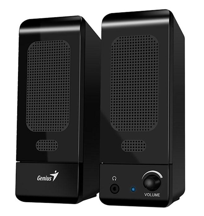 Genius SP-U120, Black акустическая система компьютерные колонки genius sp hf500a