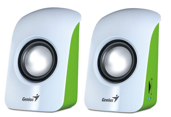 Genius SP-U115, White акустическая системаSP-U115Так просто установить! Просто подключите Genius SP-U115 к 3,5-мм звуковому разъему своего устройства - и готово.Регулятор уровня звука сбоку позволяет легко управлять громкостью.50-мм излучатель и полная выходная мощность 3 Вт обеспечивают четкий стереофонический звук.Колонки Genius SP-U115 совместимы с большинством устройств: ноутбуков и настольных компьютеров, МРЗ-плееров, проигрывателей компакт-дисков, смартфонов и планшетов. Драйверы не требуются.