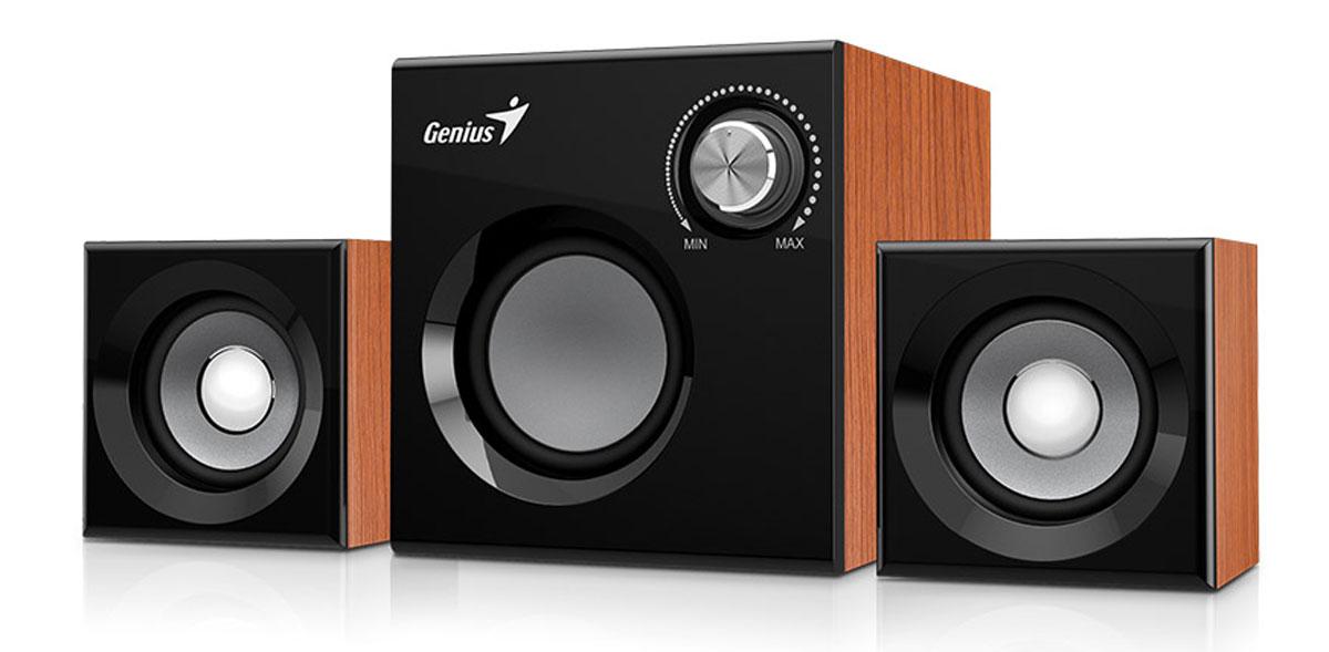 Genius SW-2.1 370, Brown акустическая система
