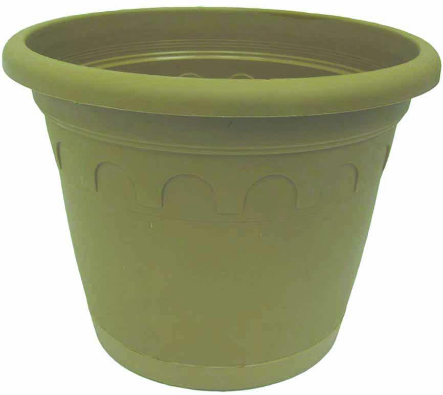 Горшок для цветов Soparco Roma, с поддоном, цвет: песок, 1,5 л704036Прекрасное решение для выращивания растений в домах, квартирах и офисах. Разная высота дренажных отверстий на дне горшка позволяет стекать лишней воде в блюдце, при этом через нижние отверстия почва увлажняется, защищая растения от пересыхания.