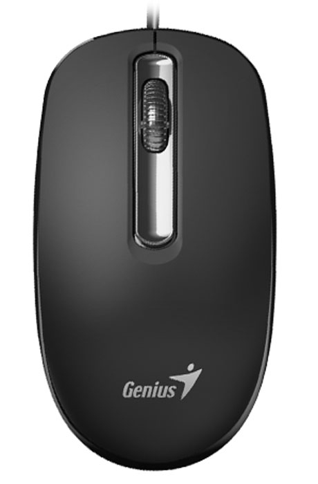 Genius DX-130, Black мышь клавиатура genius slimstar 130