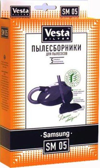 Vesta filter SM 05 комплект пылесборников, 5 шт rolsen sm 700mf