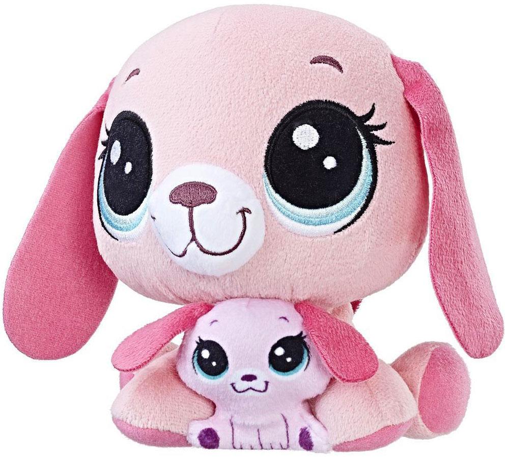 Littlest Pet Shop Мягкая игрушка Пет и его малыш Holly & Bitsy hasbro зверюшка и ее малыш littlest pet shop а7313 b4761