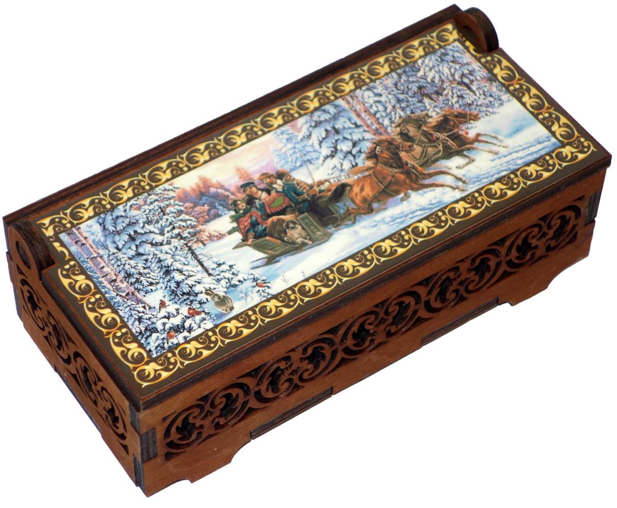 Кремлина Зимой в лесу миндаль в шоколаде конфеты, 130 г конфеты jelly belly 100g