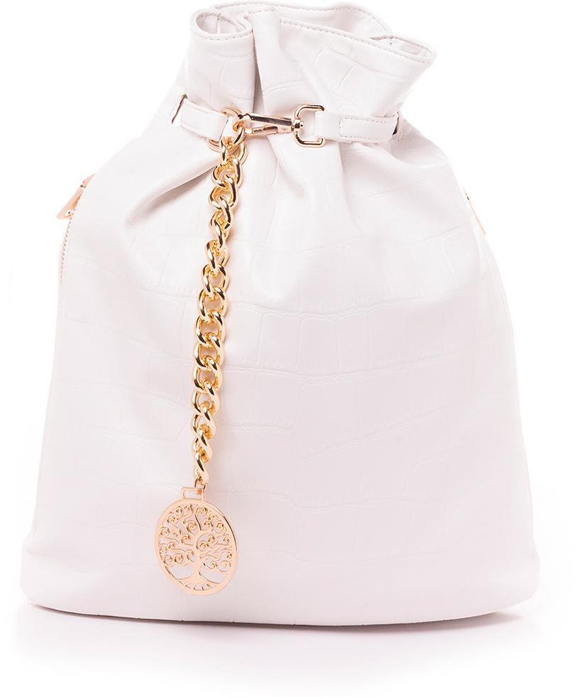 Рюкзак женский Baggini, цвет: белый. 28724/30