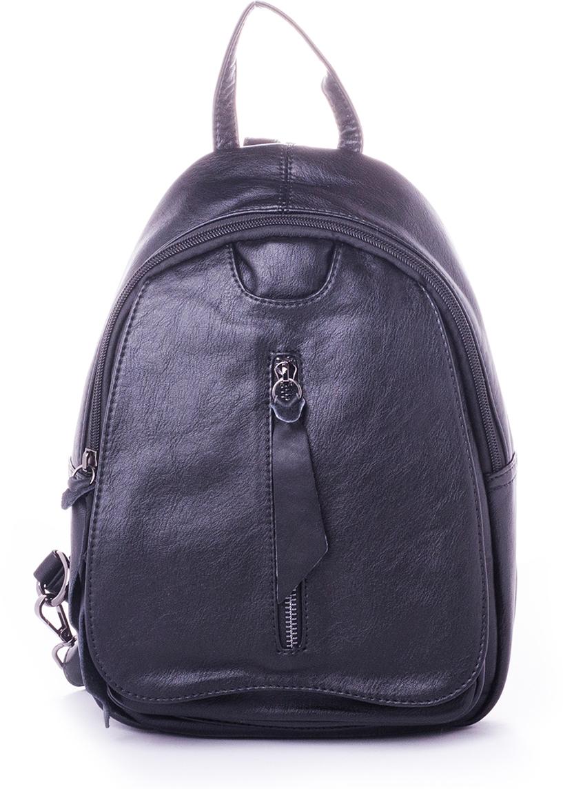 Рюкзак женский Baggini, цвет: черный. 29005/1029005/10Женский рюкзак выполнен из искусственной кожи, имеет одно внутреннее отделение.
