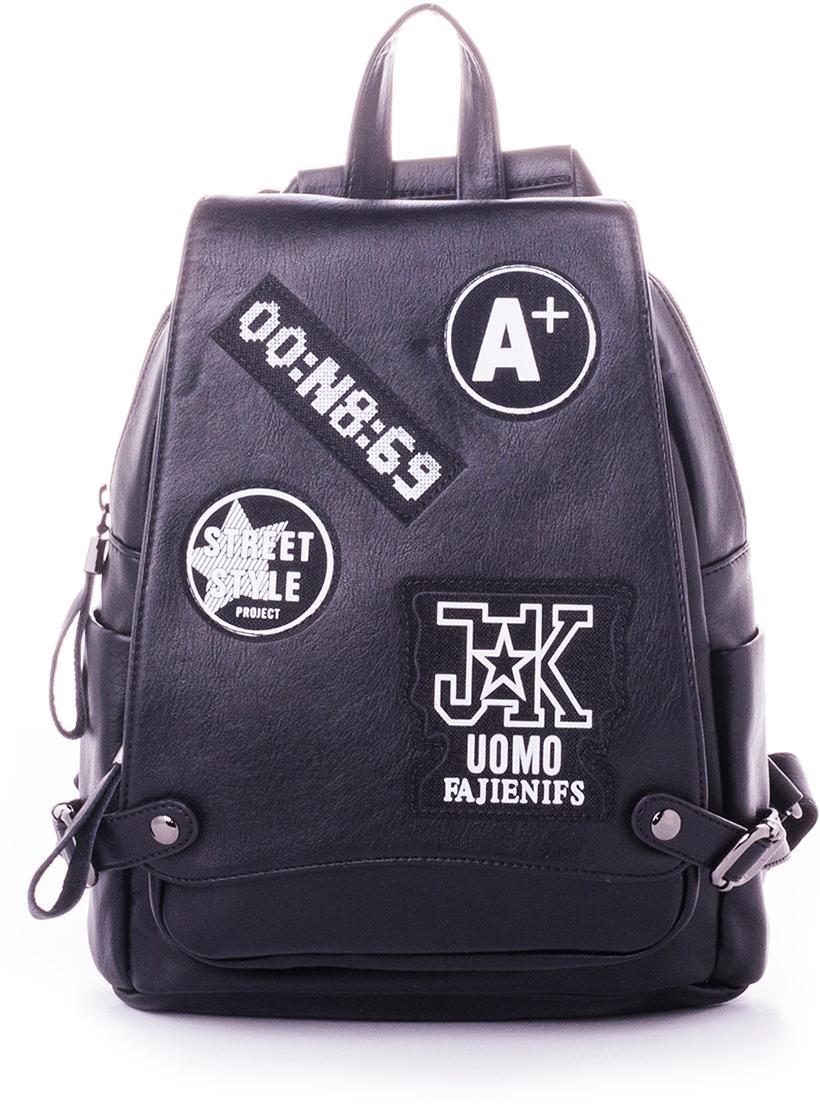 Рюкзак женский Baggini, цвет: черный. 29008/10