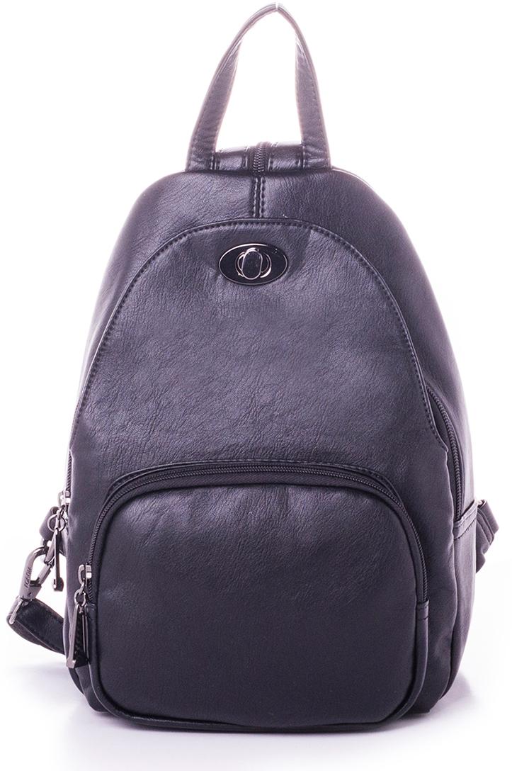 Рюкзак женский Baggini, цвет: черный. 29507-2/10