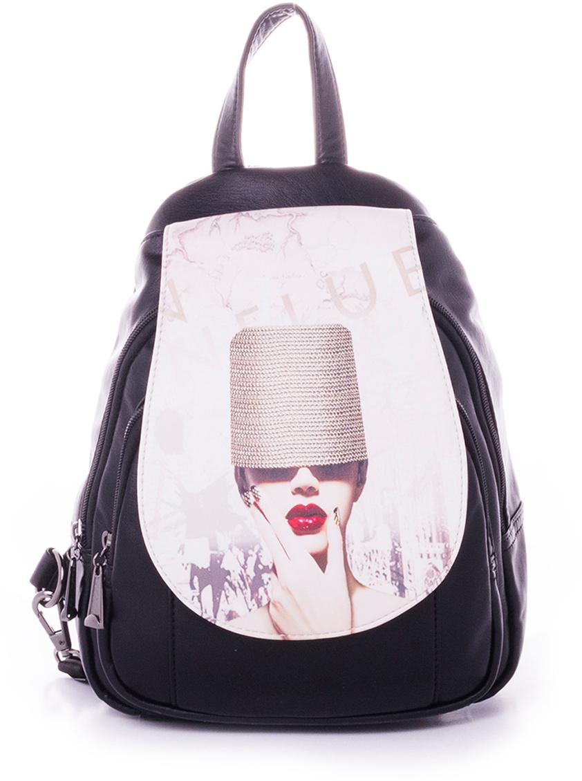 Рюкзак женский Baggini, цвет: бордовый. 29910-4
