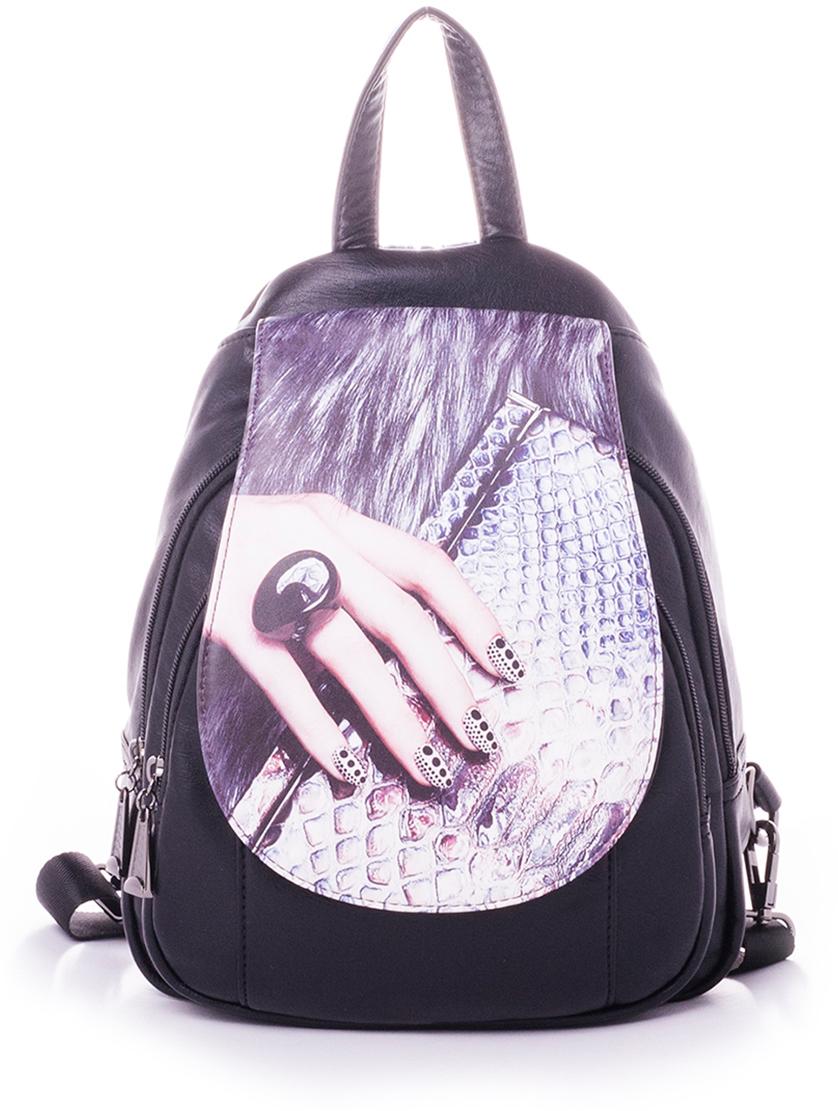 Рюкзак женский Baggini, цвет: бордовый. 29910-7
