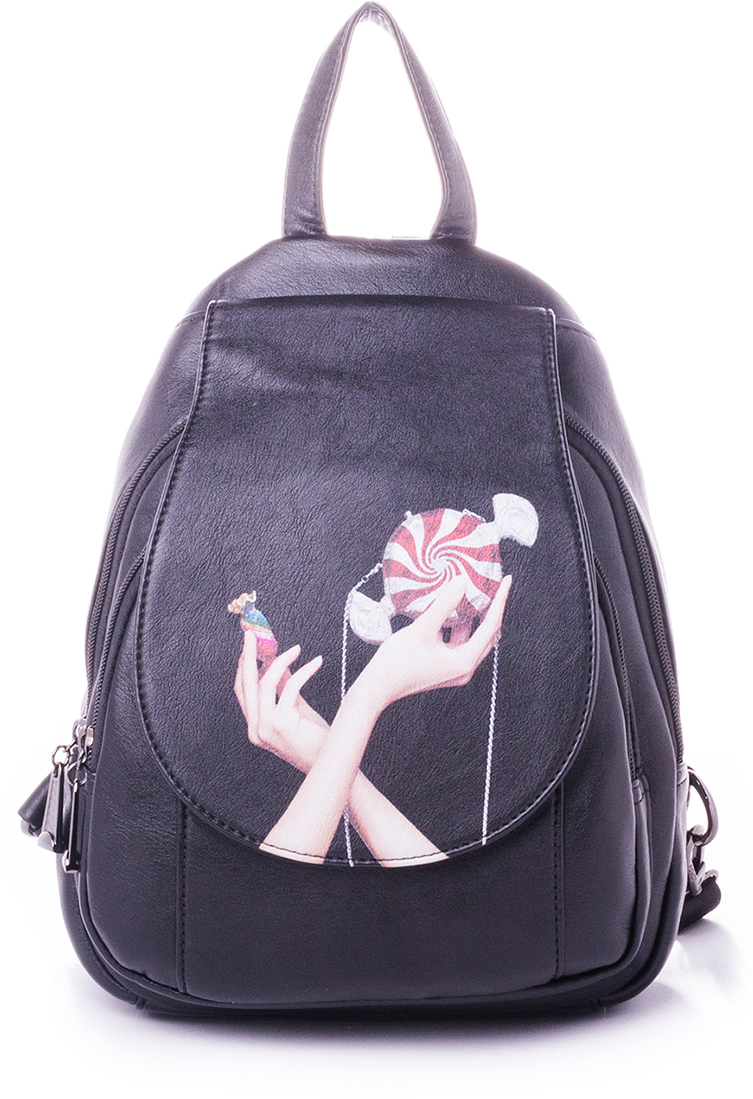 Рюкзак женский Baggini, цвет: бордовый. 29911-7