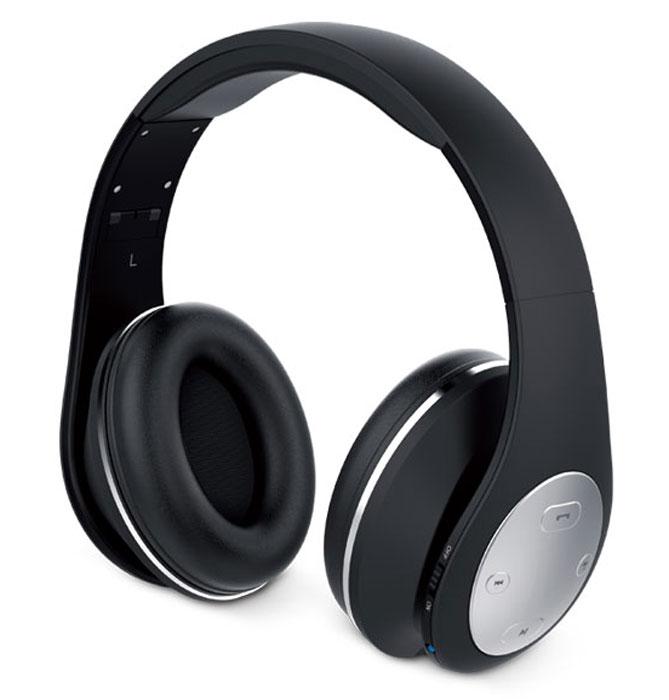 Genius HS-935BT, Black наушникиHS-935BT, blackДиапазон подключения Bluetooth 4.1 составляет 30 м. Наслаждайтесь музыкой без проводов. Питания без подзарядки хватит почти на 400 композиций. Ваше настроение не испортится от внезапно прекратившейся музыки! Полная зарядка за 2,5 часа. Регулируемое оголовье стало еще удобнее. Когда воспроизведение прекращается, наушники HS-935BT автоматически переходят в режим ожидания, и мгновенно выходят из него, если воспроизведение начинается вновь. Коротко нажмите специальную кнопку, чтобы ответить на звонок или положить трубку. Сумка для переноски входит в комплект поставки и защищает наушники.