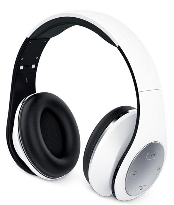 Genius HS-935BT, White наушникиHS-935BT, whiteДиапазон подключения Bluetooth 4.1 составляет 30 м. Наслаждайтесь музыкой без проводов. Питания без подзарядки хватит почти на 400 композиций. Ваше настроение не испортится от внезапно прекратившейся музыки! Полная зарядка за 2,5 часа. Регулируемое оголовье стало еще удобнее. Когда воспроизведение прекращается, наушники HS-935BT автоматически переходят в режим ожидания, и мгновенно выходят из него, если воспроизведение начинается вновь. Коротко нажмите специальную кнопку, чтобы ответить на звонок или положить трубку. Сумка для переноски входит в комплект поставки и защищает наушники.