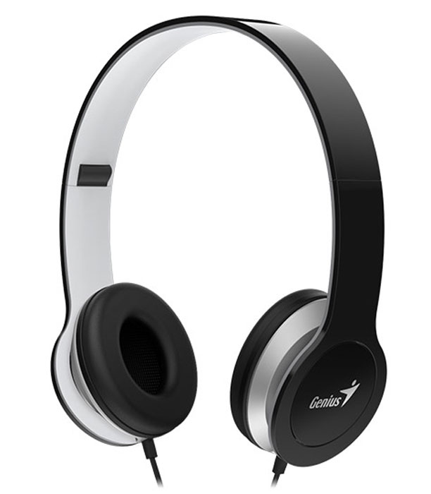 Genius HS-M430, Black наушникиHS-M430, blackВысокое качество звучания и прекрасные низкие частоты благодаря 40-мм неодимовым излучателям. Накладные наушники изолируют окружающий шум. Встроенный микрофон для разговоров. Удобные и суперлегкие, всего 150 г.