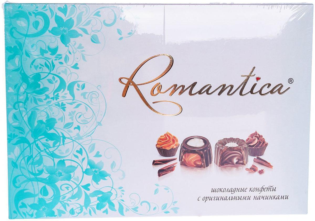 Славянка Romantica набор конфет, 320 г (бирюзовая упаковка)20152_бирюзовыйСлавянка Romantica - набор конфет с различными начинками. Оригинальное решение под одним наименованием. Коллекция из четырех видов вкусовых сочетаний конфет.