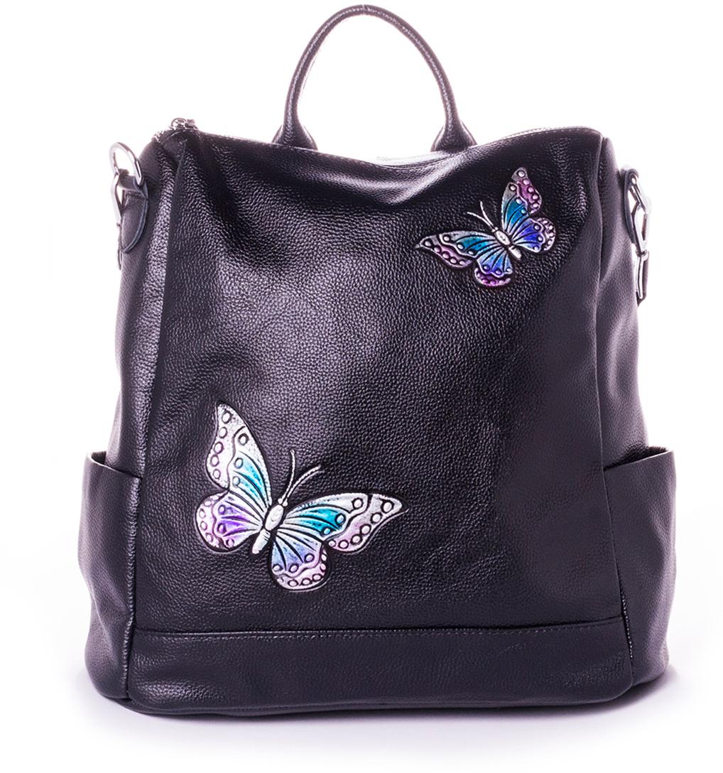 Рюкзак женский Baggini, цвет: черный. 28183-1/10