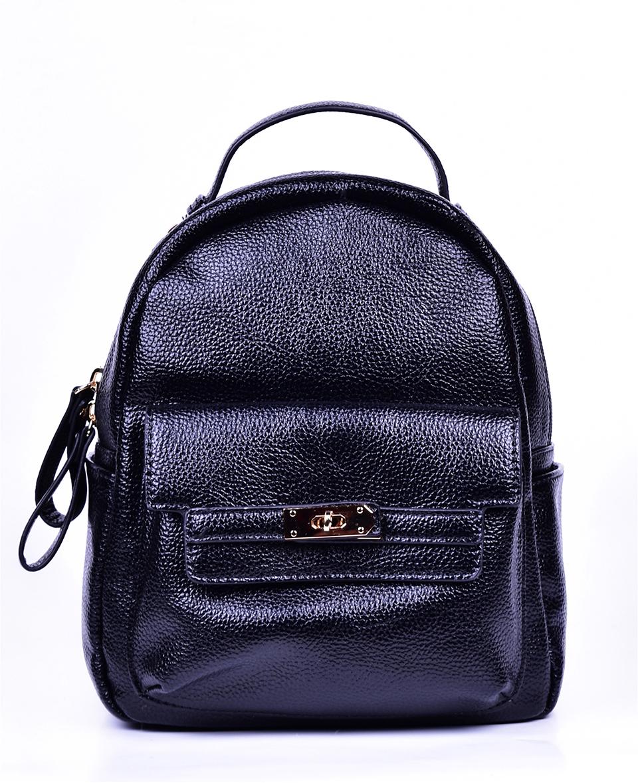 Рюкзак женский Baggini, цвет: черный. 29836-4/1029836-4/10Женский рюкзак выполнен из искусственной кожи, имеет одно внутреннее отделение.