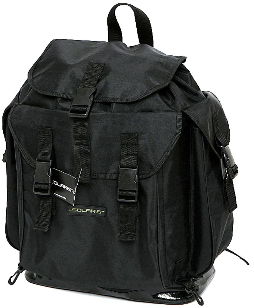 Рюкзак туристический  Solaris , цвет: черный, 43 л - Туристические рюкзаки