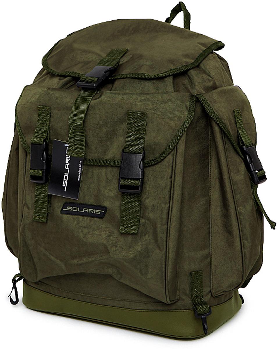 Рюкзак туристический Solaris, цвет: серый, хаки, 43 л рюкзак туристический пиксель цвет хаки 29 л 1007726