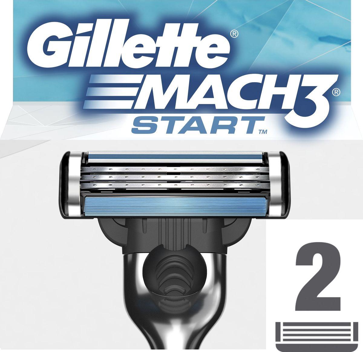 Gillette Mach 3 Start Сменные кассеты для бритвы, 2 штMAG-81651732Сменные кассеты для мужской бритвы Gillette Mach 3 Start обеспечивают гладкое бритье без покраснения кожи, а ощущения даже при 10-м их использовании лучше, чем при бритье новой одноразовой бритвой (по сравнению с одноразовой бритвой Gillette BlueII Plus). Каждая сменная кассета оснащена 3 лезвиями DuraComfort, обеспечивающими длительный комфорт, а гелевая полоска скользит по коже, предотвращая ее покраснение. Эти сменные кассеты для бритвы Mach 3 Start подходят к любой бритве Mach 3.Features and Benefits Больший комфорт даже при 10-й процедуре бритья (по сравнению с одноразовой бритвой Gillette BlueII Plus)Обеспечивает гладкое бритье и требует в два раза меньшего давления на лезвие (по сравнению с одноразовой бритвой Gillette BlueII Plus) Гелевая полоска скользит по коже, предотвращая ее покраснение Подходит к любым бритвам серии Mach 3