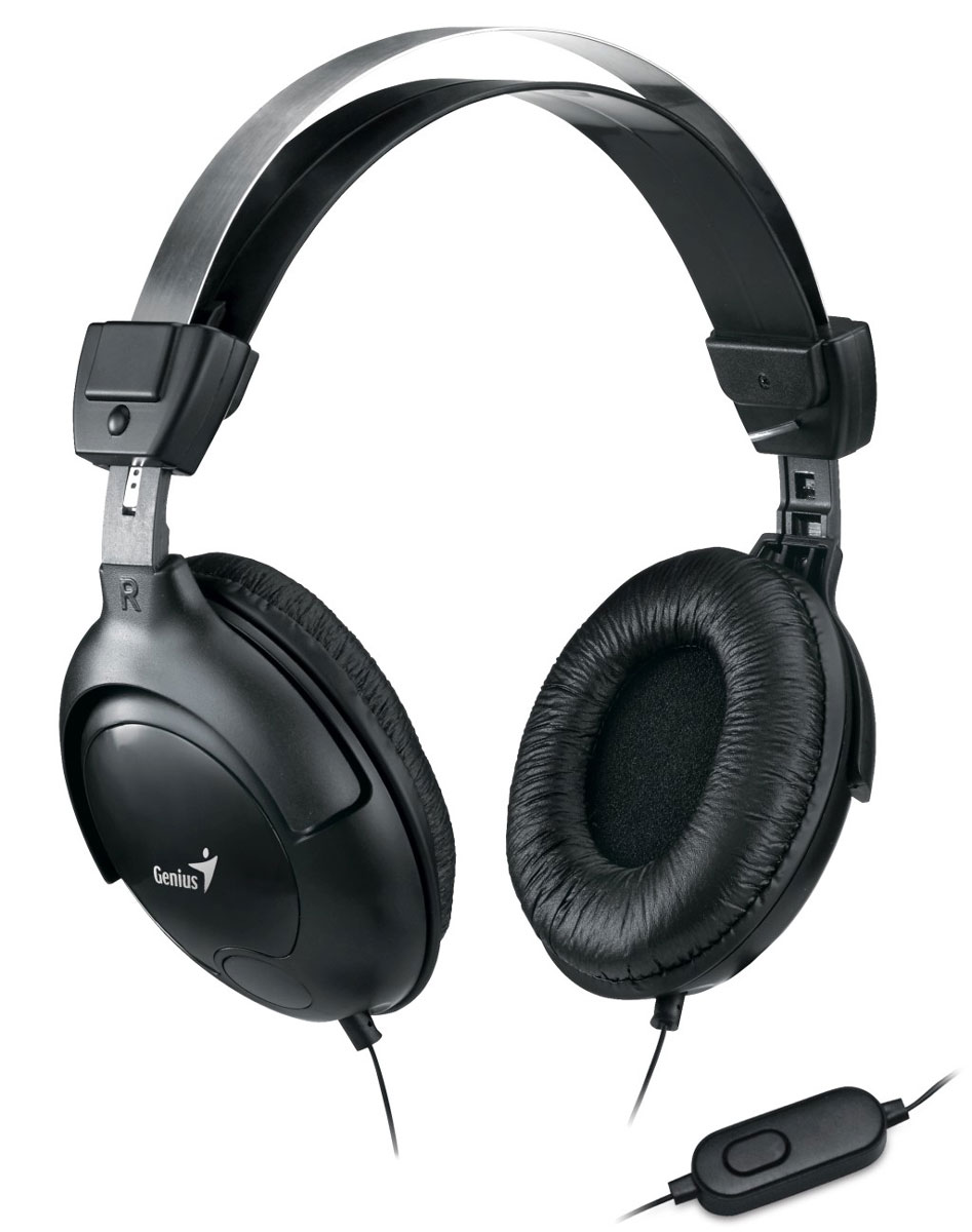 Genius HS-M505X, Black компьютерная гарнитура гарнитура genius hs g680 черный