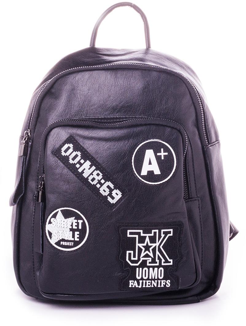Рюкзак женский Baggini, цвет: черный. 29008-2/10