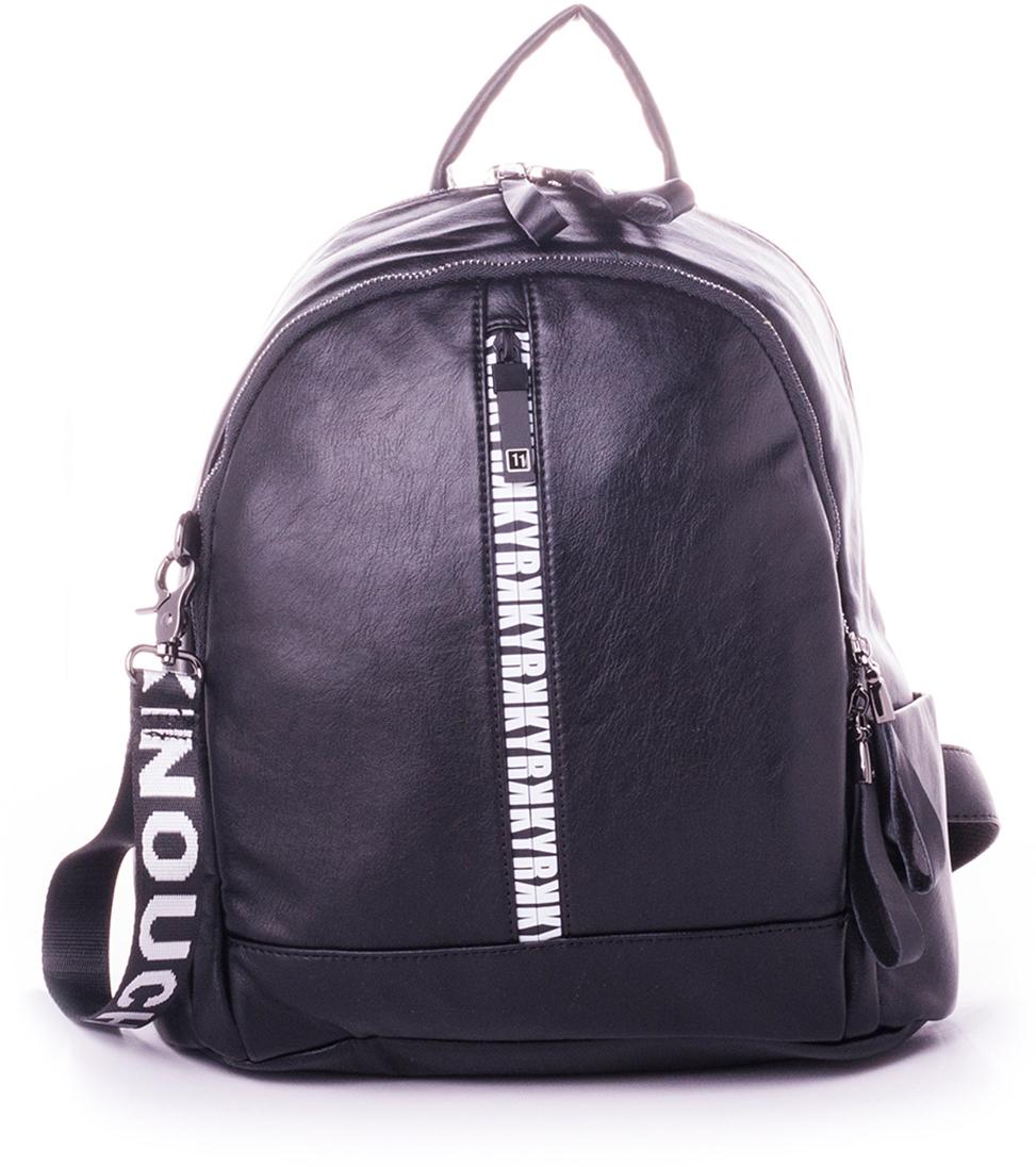 Рюкзак женский Baggini, цвет: черный. 29007-1/10