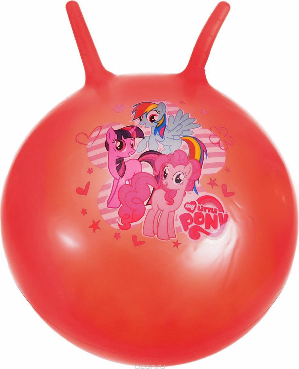 Играем вместе Мяч-прыгунок My Little Pony с рожками цвет красный 55 см мульти пульти мягкая игрушка принцесса луна 18 см со звуком my little pony мульти пульти