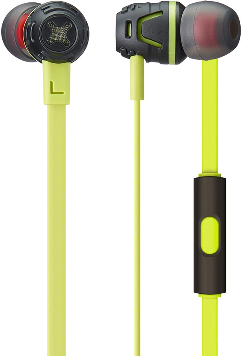 цена на Phiaton C450S mic, Neon Green наушники