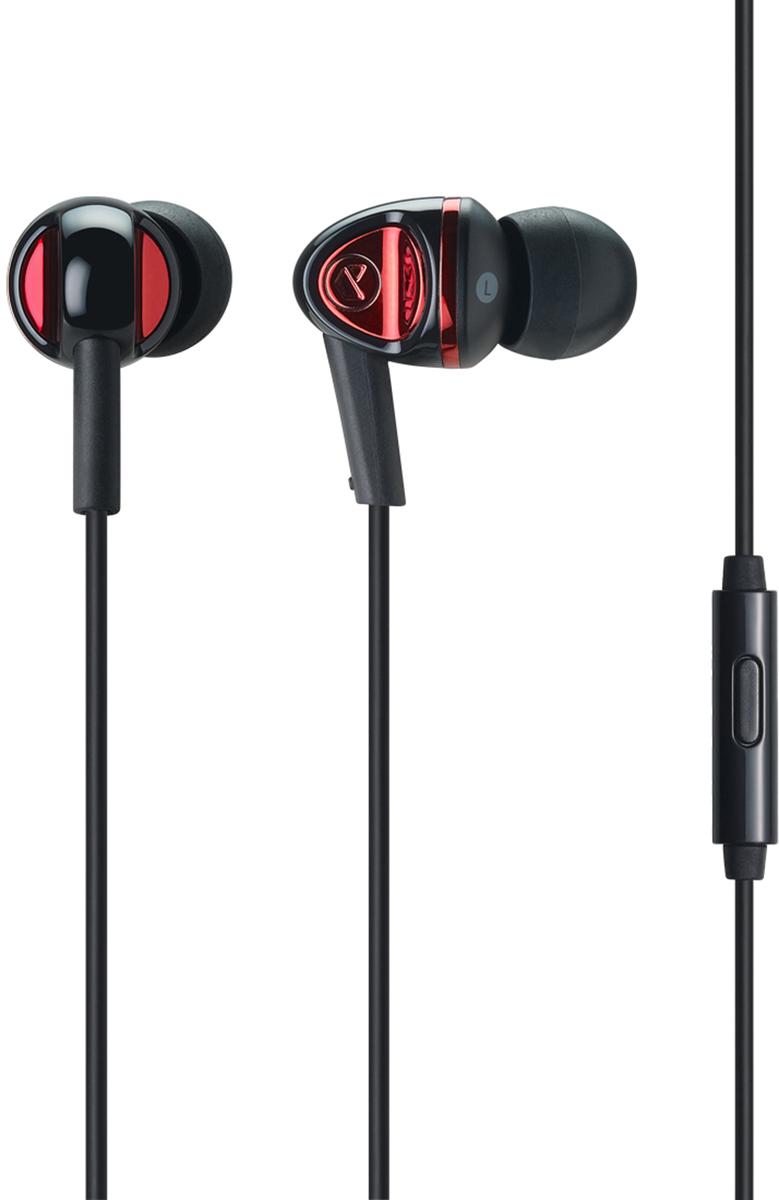 Cresyn C120S mic, Black наушникиCPU-ES2120BK01Наушники C120S обеспечивают высокое качество звука с помощью расширенного блока драйверов, микрофона и пульта дистанционного управления. Новый и улучшенный 10-миллиметровый блок драйверовстерео наушников C120S производят более мощный, динамичный глубокий бас и хорошо сбалансированный звук. Современный дизайн обеспечивает не только красоту, но и очень удобен для долгого использования.