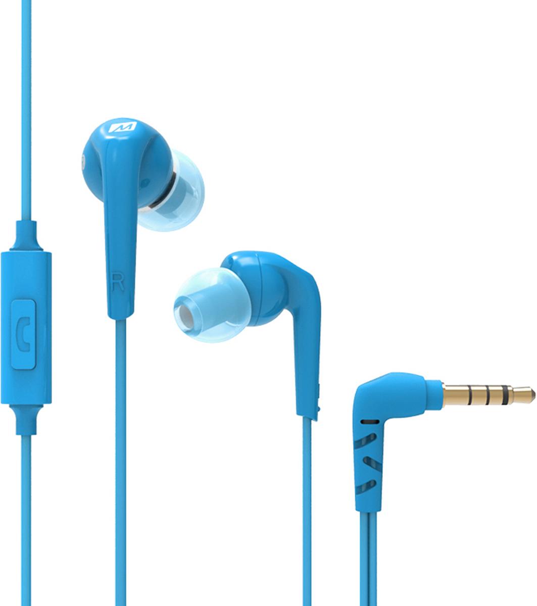 MEE Audiо RX18P COMFORT-FIT, Blue наушникиEP-RX18P-BL-MEERX18P - это легкие и эргономичные наушники, обеспечивающие четкое, улучшенное звучание басов, идеально подходящее для музыки, фильмов, игр, аудиокниг и других материалов. Встроенный микрофон и пульт дистанционного управления позволяют вам отвечать на вызовы и воспроизводить, приостанавливать и пропускать дорожки, сохраняя при этом ваш телефон или медиаплеер в кармане.ОСОБЕННОСТИ: Легкие наушники-вкладыши, разработанные для комфортного использования в повседневной жизни 10-миллиметровые динамические драйверы выдают чистый и четкий звук с глубокими, но контролируемыми басами Эргономичный дизайн наушников следует естественной форме уха, чтобы обеспечить комфорт на весь день Встроенный микрофон и пульт для iPhone, iPad, iPod, других смартфонов и планшетов Комплект включает в себя 3 размера амбушюрСОЗДАНЫ ДЛЯ КОМФОРТА Маленькие и легкие наушники RX18P, разработаны для легкого и комфортного использования, соответствуют естественной форме уха. Три различных размера амбушюр в комплекте позволят вам получить исключительный комфорт и надежную посадку, при которой наушники удержатся даже в самых маленьких ушах.ШУМОИЗОЛЯЦИОННЫЙ ДИЗАЙН Удобная вставка для ушей и множество размеров прилагаемых советов для ушей помогают обеспечить наилучшее уплотнение для ваших ушей, усиление басового ответа, снижение внешнего шума и предотвращение прослушивания музыки вокруг вас.