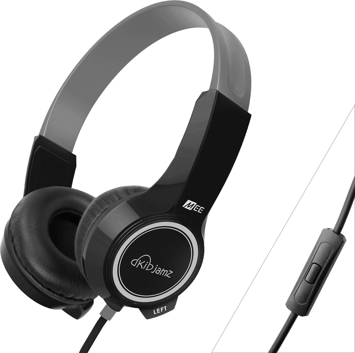 MEE audio KIDJAMZ KJ25P, Black наушникиHP-KJ25P-BK-MEEMEE audio KIDJAMZ KJ25P - Безопасные наушники для прослушивания для детей. Слух ценен и нуждается в защите независимо от возраста, так как даже кратковременное воздействие громких звуков могут вызвать его потерю. Звуки, окружающие нас в повседневной жизни, иногда превышают безопасные уровни громкости, но с наушниками MEE audio KidJamz KJ25P родители могут не беспокоиться о слухе своих детей.Ограничители громкости, легкая конструкция и ударопрочный дизайн - MEE audio KidJamz KJ25P защищает слух детей при просмотре фильмов, музыки, игр и многого другого. В наушниках KIDJAMZ KJ25P предусмотрена технология ограничения громкости, которая защищает слух ваших детей, поэтому вам больше не нужно постоянно контролировать громкость и количество времени, проводимое ими за усройствами.ТЕХНОЛОГИЯ ОГРАНИЧЕНИЯ ГРОМКОСТИ В то время, как обычные наушники и наушники могут превышать безопасные уровни громкости на 30%, KIDJAMZ KJ25P использует собственный ограничитель громкости для автоматического поддержания уровня звукового давления (SPL) при рекомендованном врачами 85 дБ, защищая уши детей и помогая создавать хорошие слуховые привычки.ПРОЧНАЯ КОНСТРУКЦИЯ KIDJAMZ KJ25P обеспечивают отличную долговечность благодаря минимальному количеству подвижных деталей конструкции. Ударопрочное оголовье может быть изогнуто и скручено в любом направлении без трещин и заломов, в то время как прочный кабель толщиной 3,8 мм обладает устойчивостью к разрывам и обладает укрепленными разъемами.РАЗРАБОТАНО СПЕЦИАЛЬНО ДЛЯ ДЕТЕЙ Полулегкий вес 3 унции и регулируемое оголовье KIDJAMZ KJ25P обеспечивают удобную подгонку для детей в возрасте 4-12 лет. Пластмасса BPA-Free безопасна и долговечна, а гипоаллергенные пенные амбушюры надежно удерживают наушники.ФИРМЕННЫЙ ЗВУК MEE audio Создание хороших слуховых привычек начинается с отличного качества звука. MEE audio KIDJAMZ KJ25P настроены на высококачественный стереозвук, четкий и чистый, ровный и не напрягающи