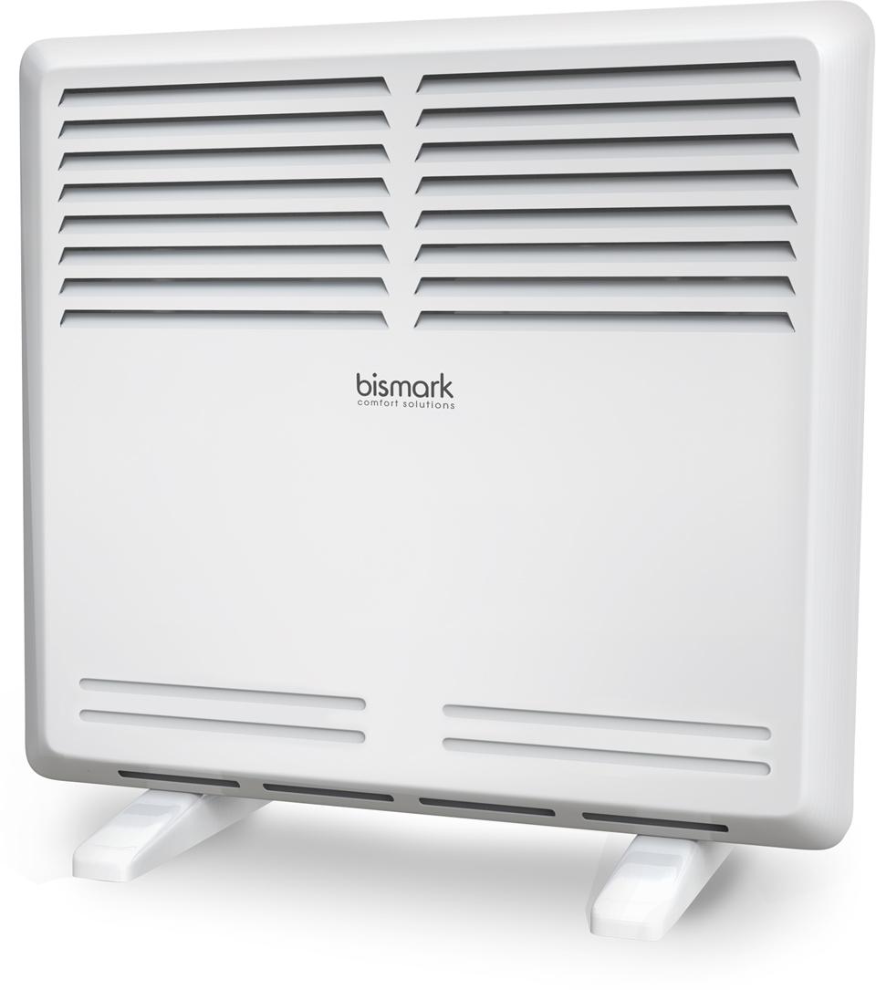 Bismark BC-S1000M-001 Resort электрический конвекторНС-1133355Электрические конвекторы RESORT (Ресорт) воплотили в себе высокие стандарты качества и безопасности, мощный обогрев помещения площадью от 10 до 25 м2 и широкий модельный ряд 1, 1.5 и 2.0 кВт. Экономичный нагревательный СТИЧ-элемент быстро и мягко нагреет воздух в помещении, а высокий класс электрозащиты и датчик защиты от перегрева обеспечивает безопасное использования прибора. Конвекторы RESORT обладают полной комплектацией для напольной и настенной установки. Эффективный нагревательный СТИЧ-элемент и равномерный обогрев помещенияБыстрый разогрев за несколько секунд и высокая эффективность распределения тепла. Минимальное время остывания после выключения конвектора. Равномерное распределение тёплого потока воздуха по всему помещению благодаря особой конструкции жалюзи.Надёжность и безопасностьНадёжное и безопасное использование. Защита от перегрева, высокий класс электрозащиты.Полная комплектация и установка в любой интерьерВ комплект входят опорные ножки для установки на пол и кронштейн для монтажа на стену. Белоснежный цвет конвектора и классический дизайн позволяют установить прибор в любой интерьер.Автоматическое поддержание температурыВысоконадёжный механический термостат позволяет автоматически поддерживать желаемую температуру в помещении.