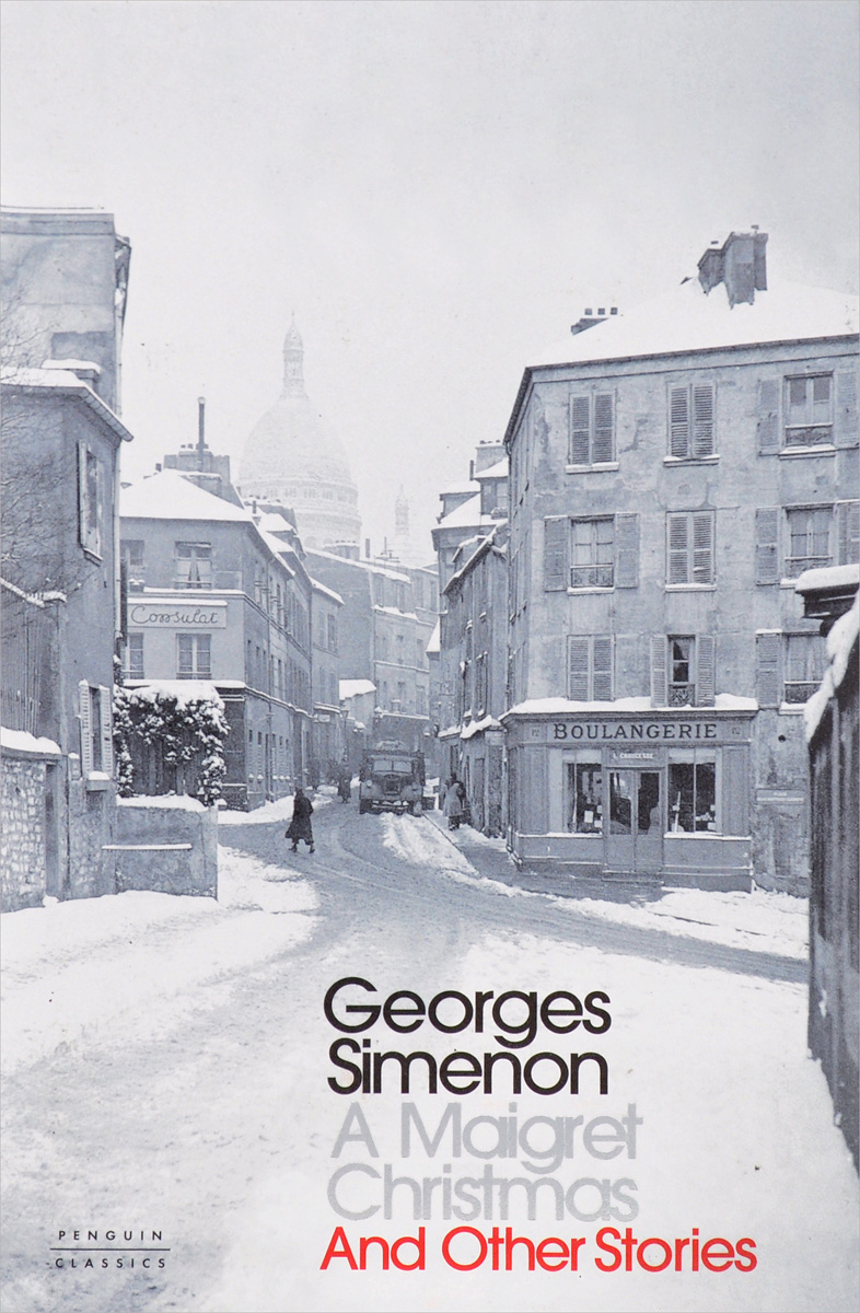 A Maigret Christmas 30pcs in one postcard take a walk on the go paris france christmas postcards greeting birthday message cards 10 2x14 2cm
