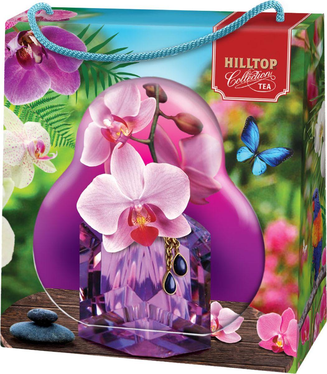 Hilltop Орхидея чай листовой с чабрецом, 50 г4607099308855_орхидеяЧай с чабрецом - чай черный цейлонский байховый крупнолистовой с чабрецом.