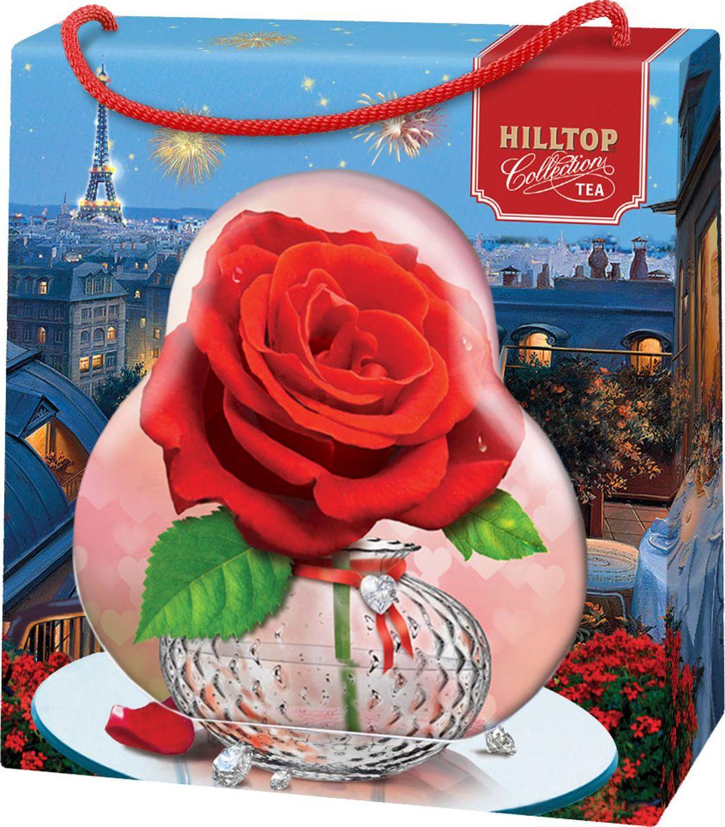 Hilltop Роза чай листовой королевское золото, 50 г hilltop зеленая симфония зеленый листовой чай 100 г