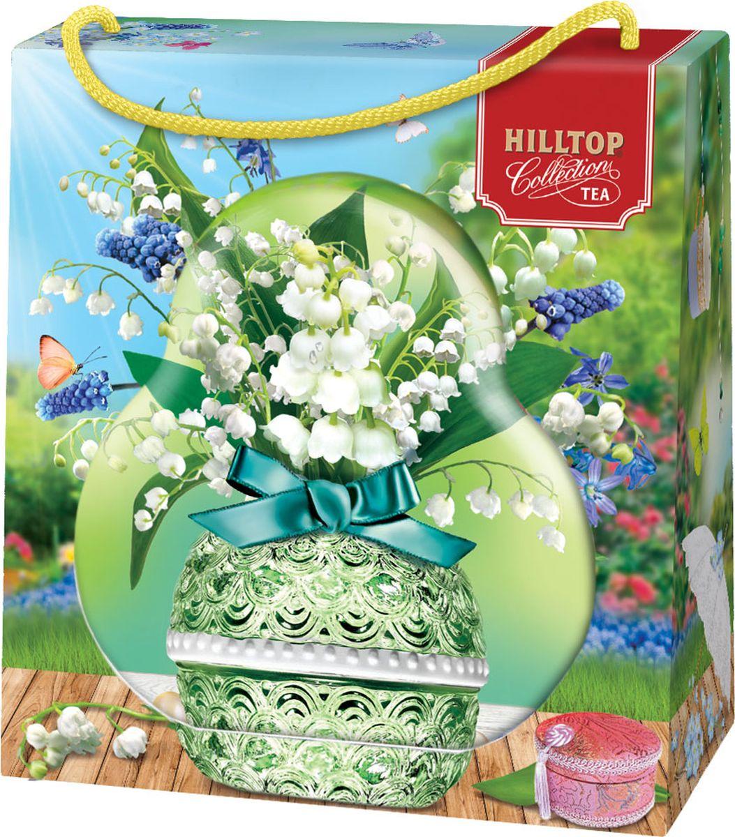 Hilltop Ландыш чай листовой королевское золото, 50 г hilltop зеленая симфония зеленый листовой чай 100 г