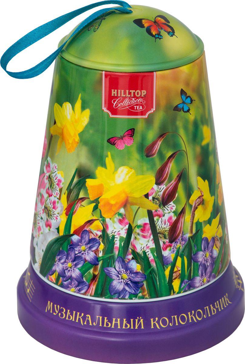 Hilltop Луговые цветы чай листовой королевское золото, 100 г4607099308909_луговые цветыЧай Королевское золото - крупнолистовой терпкий черный чай стандарта Пеко с лучших плантаций острова Цейлон.