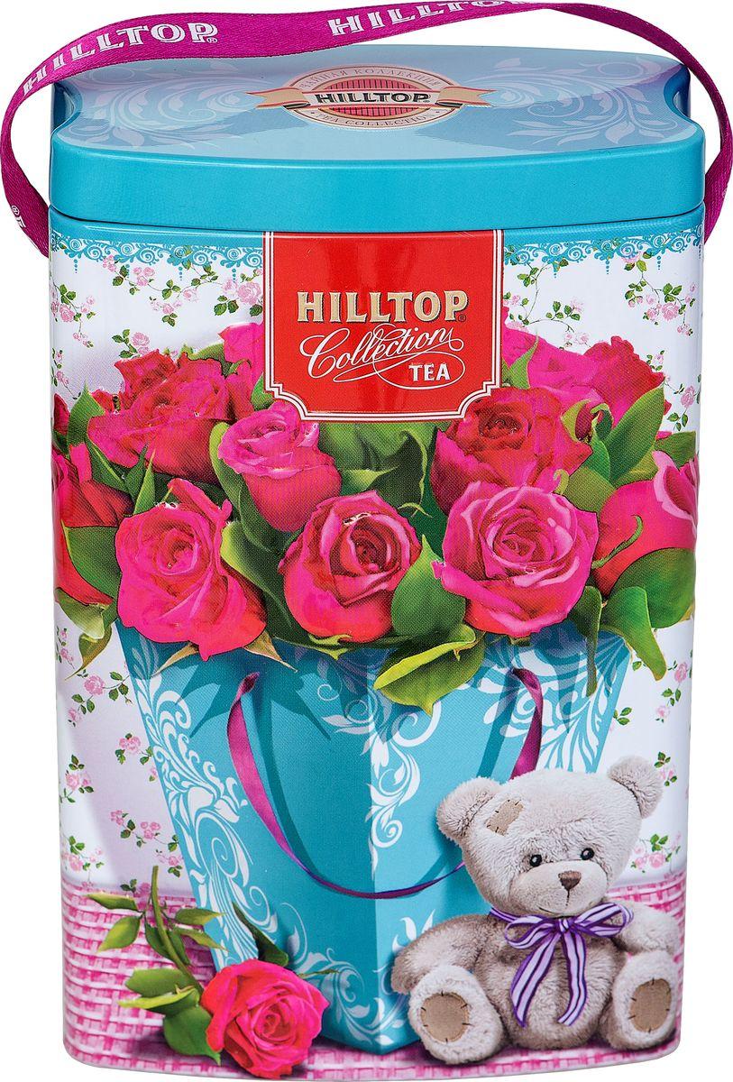 Hilltop Розы чай листовой цейлонское утро, 125 г mabroc ночь 1000 звезд чай листовой 85 г
