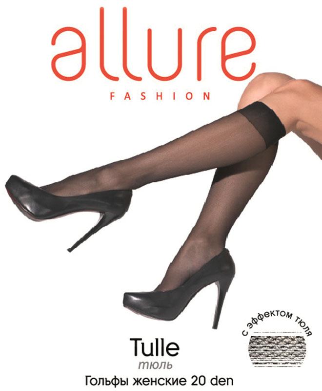 Гольфы Allure Tulle 20, цвет: Glase (бронза). Размер универсальный гольфы pompea гольфы vani 20
